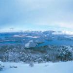 冬の三方五湖
